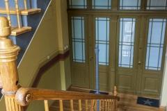 Klatka schodowa - drzwi domieszkań